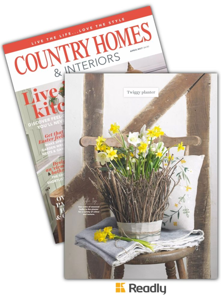 Suggestion about Country Homes & Interiors Magazine April 2017 page 144