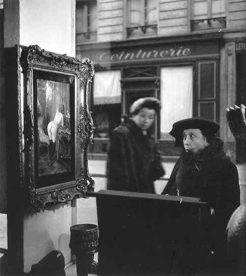 La Dame Indignee (1948) by Robert Doisneau (1912-1994)