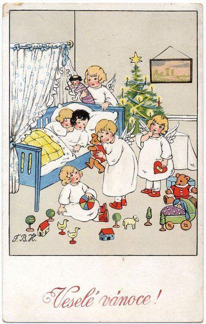 Sbírky Východočeského muzea v Pardubicích: Pohlednice » Přání: Vánoce » tp-4149.jpg