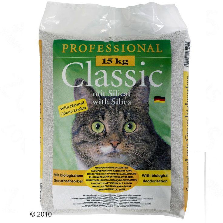 Animalerie  Litière Professional Classic avec absorbeur dodeurs  2 x 15 kg