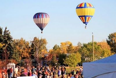 My adventures in hot-air ballooning!