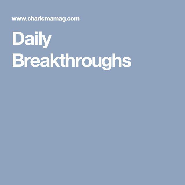 Daily Breakthroughs