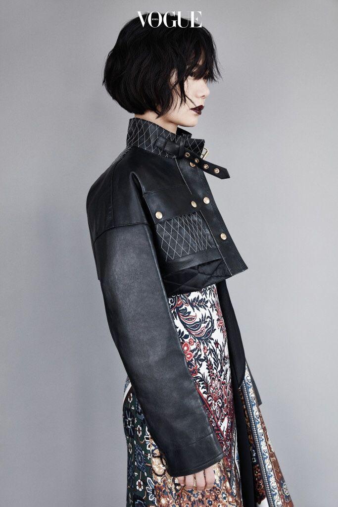 Bae Doo Na fashion photo