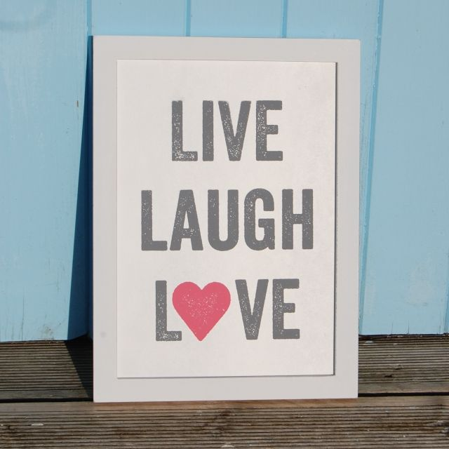 Live Laugh Love Wall Sign Beautiful Range Of Signs