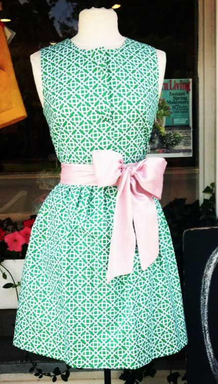 .: Fashion, Sweet Southern, Style, Spring Summer, Dresses, Green Dress, Adorable