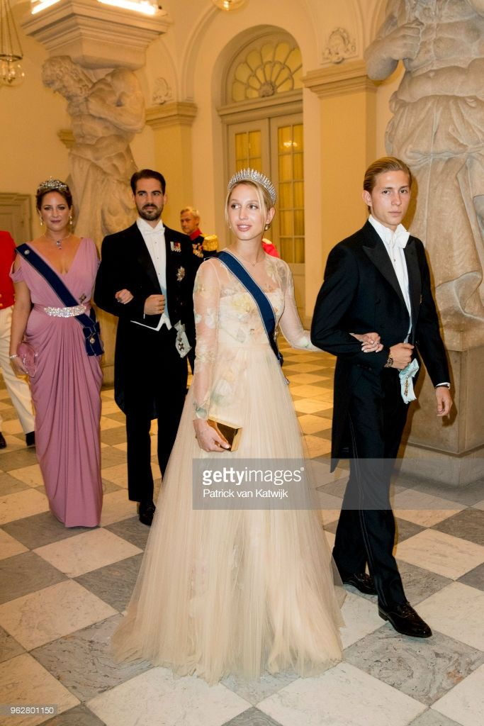 Princess Olympia of Greece and Prince Achileas-Andreas of Greece ...