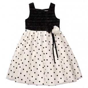 Special Occasion Tank Dress with Bow - Toddlers