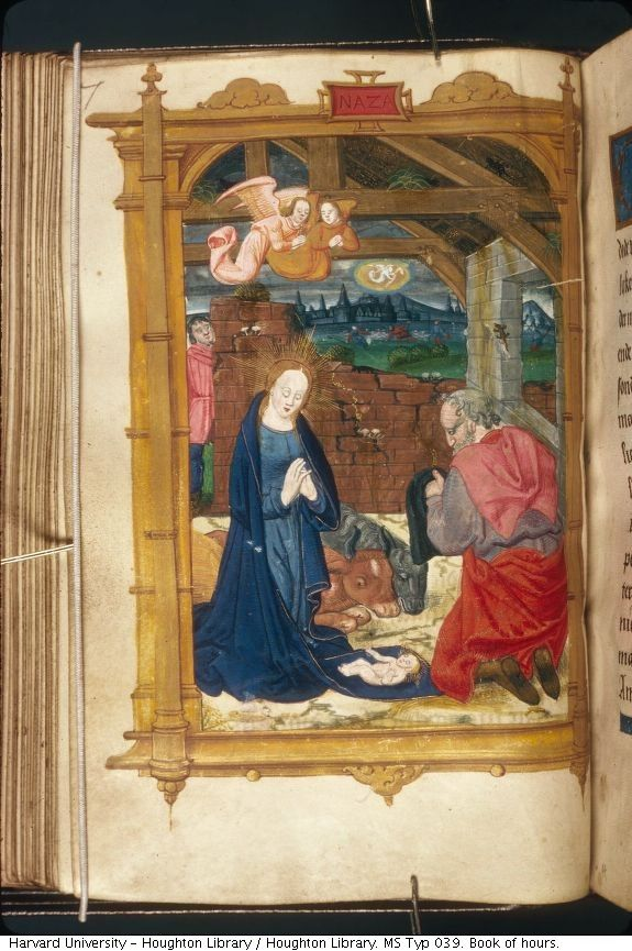 Houghton Library. MS Typ 039. Book of hours. http://pds.lib.harvard.edu/pds/view/3499186