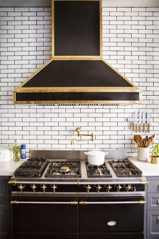 How to Use Brass and Gold Accents in Your Kitchen