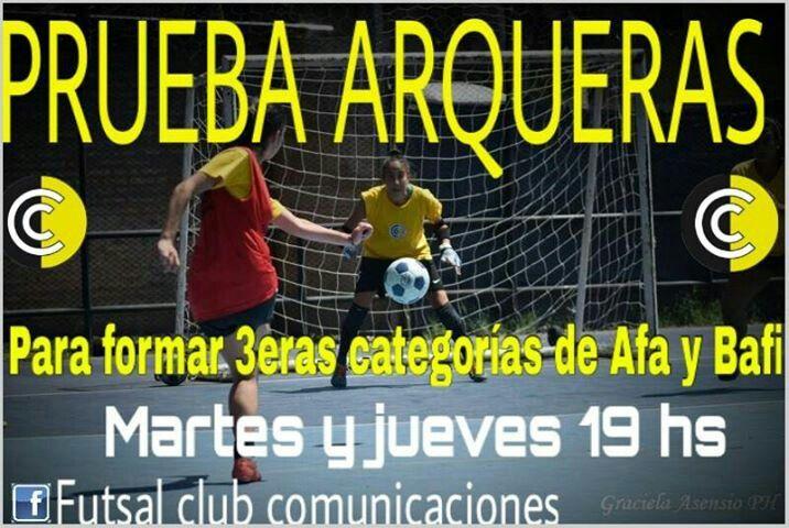 Prueba Arqueras Futsal