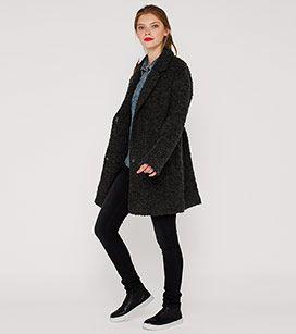 Damen Wintermantel in dunkelgrau - Mode günstig online kaufen - C&A