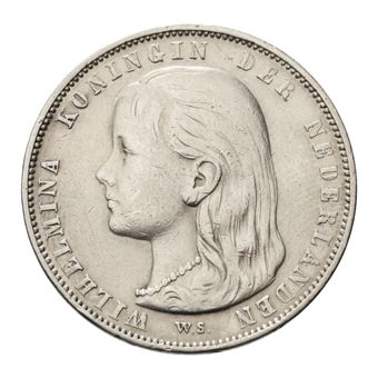 Wilhelmina gulden -  1943