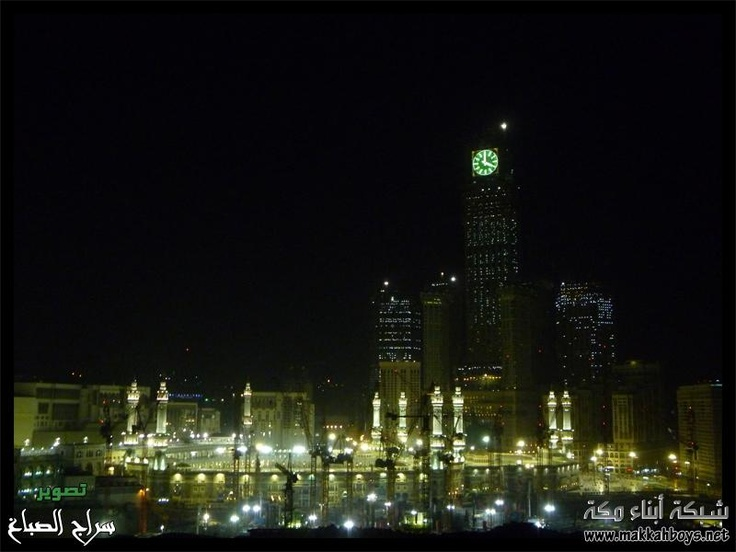 Mekkah city, west of #Saudi Arabia.