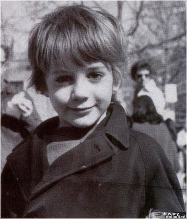 Robert Downey Jr. Here is little Robert as a child. He looks different somehow but he is one to the hottest men alive today.