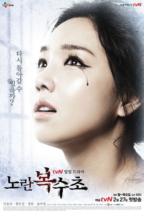 "☀ ""ICE ADONIS"" (aka Yellow Boots) ~ Synopsis: This drama depicts the revenge of Seol Yeon-Hwa, a woman who lost her family and lover, Ha Yoon-Jae, because of a fake accusation and being framed for a crime  she didn't commit by her step-sister, Choi Yoo-Ra. 