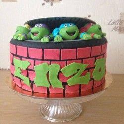 Le gâteau Tortue Ninja de Julie | Féerie cake