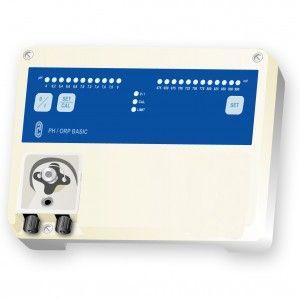 Equipo de medición, regulación y dosificación para el control diario del valor del PH BASIC pH con Bomba peristáltica 1,6 l/h - Samitec SL