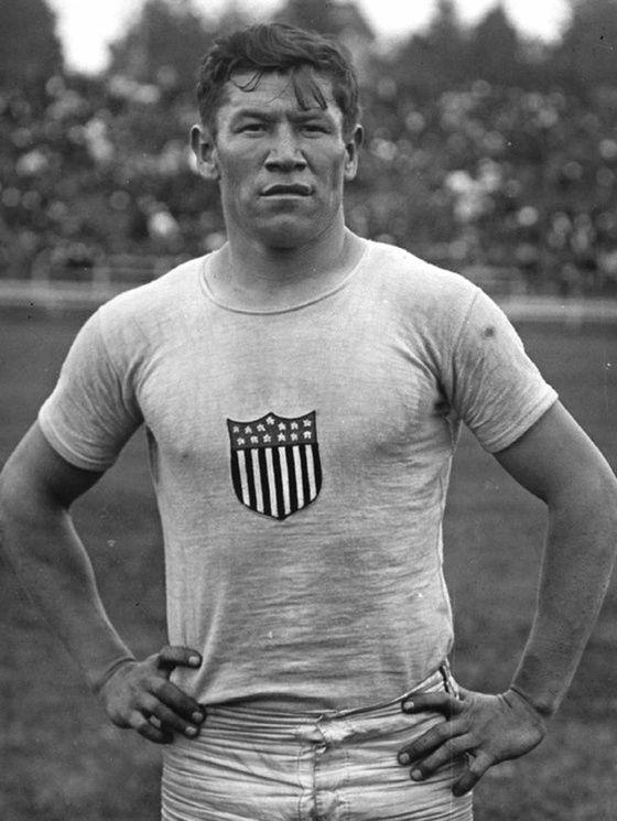 Jim Thorpe mixed native in 1912 olimpics