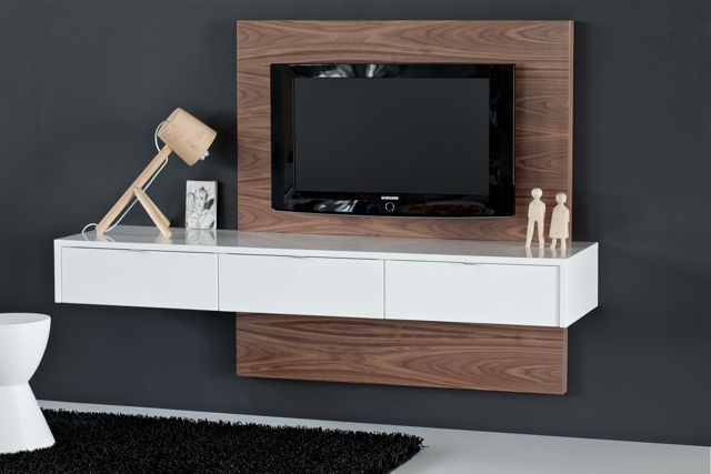 Floating tv cabinet - Paardeneiland    www.ode.co.za