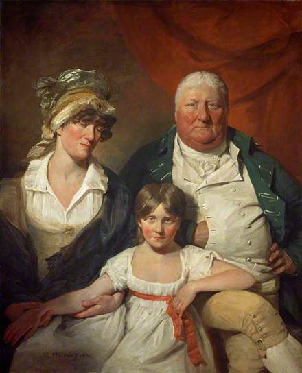 William Chalmers Bethune (1744–1807), his Wife Isobel Morison (1760–1850) and their Daughter Isabella Maxwell Morison (1795–1818), 1804 by Sir David Wilkie (Scottish 1785-1841)