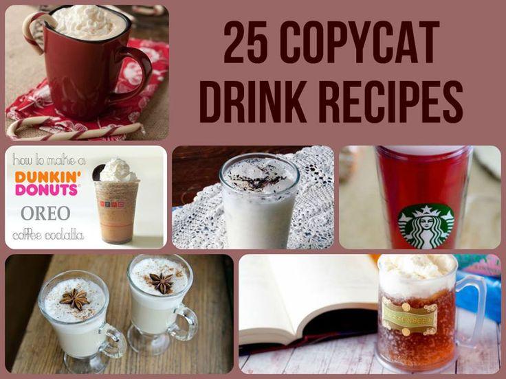 25 Copycat Drink Recipes