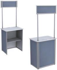 Çerçeve Alınlıklı Katlanır Tanıtım Standı, Tanıtım Standları, Fuar standı, Standlar, Metal stand, ürün standları , fiyatları sergilesene.com dadır.