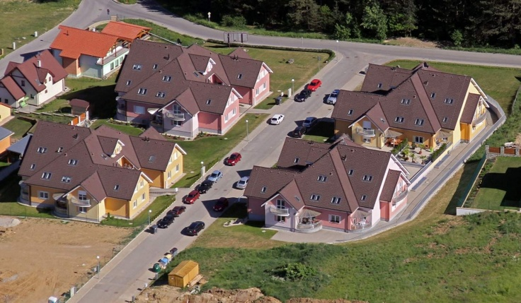 Výstavba rodinných domov Banská Bystrica, Suchý vrch