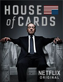 House of Cards... what a depraved, sick show. I love it! It's not very geeky, I know
