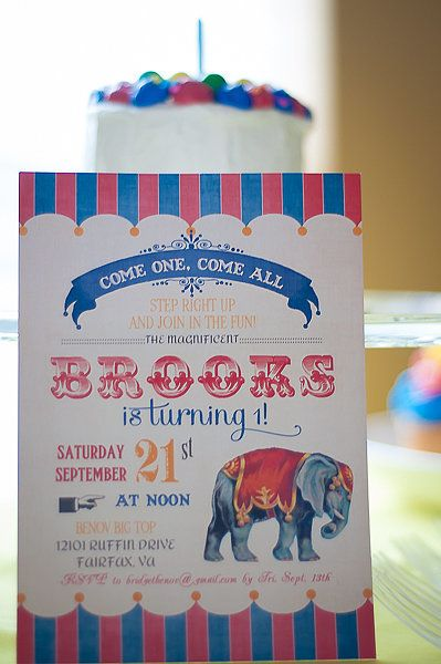 Source: T. Nicole Photography + Design | Step Right Up to Brooks's First Birthday Party Under the Big Top | POPSUGAR Moms