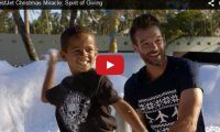 WestJet Christmas Miracle: Spirit of Giving OMG. They really went all the way out for this Christmas advert – fireworks and all! WestJet… uh, Santa, fulfilled everyone's wishes in this Christmas Miracle by WestJet that took place in the Dominican Republic…