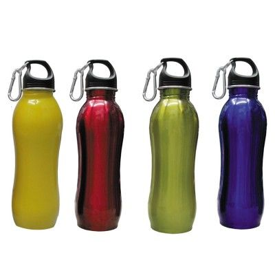 -Leak Resistant -Sporty Design -Handy and functional Shape -Ideal for all occassions and activities -Light Weight -Available in Metallic, Yellow, Green, Red & Blue Colors  http://www.giftwrapped.in/travel-and-outdoor/water-bottle/water-sipper-bottle-1956075857