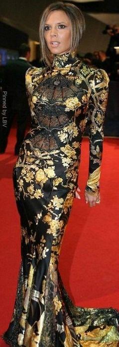 Victoria Beckham in Roberto Cavalli  | LBV ♥✤ | BeStayBeautiful