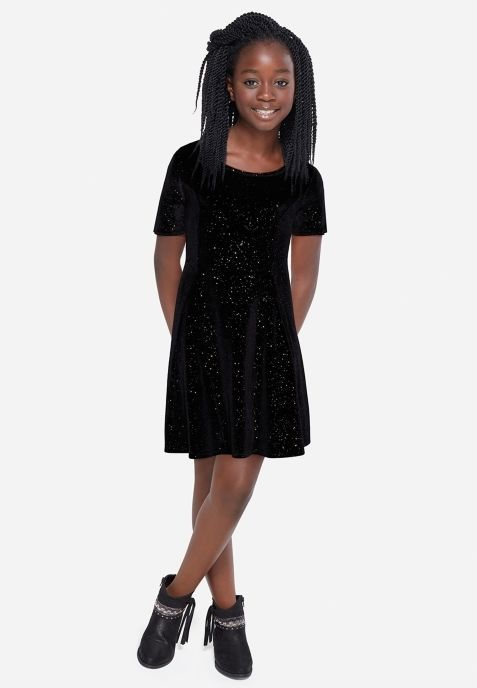 Nice Awesome NWT Justice Kids Girls Size 8 10 12 14 16 or 18 Black Sparkle Velour Party Dress 2017 2018 Check more at http://24store.ml/fashion/awesome-nwt-justice-kids-girls-size-8-10-12-14-16-or-18-black-sparkle-velour-party-dress-2017-2018/