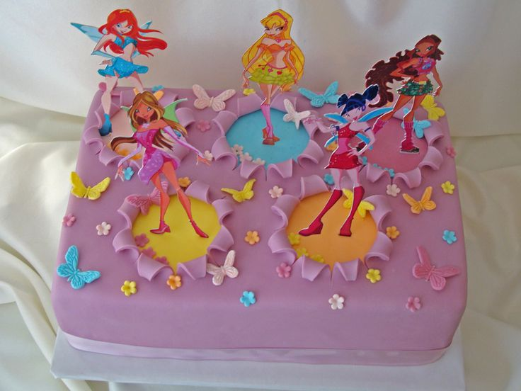 Cake Design Winx : Pinterest   The world s catalog of ideas