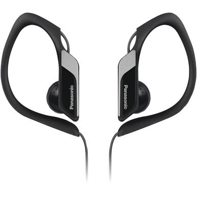 PANASONIC RP-HS34-K Sweat-Resistant Sports Earbuds (Black)
