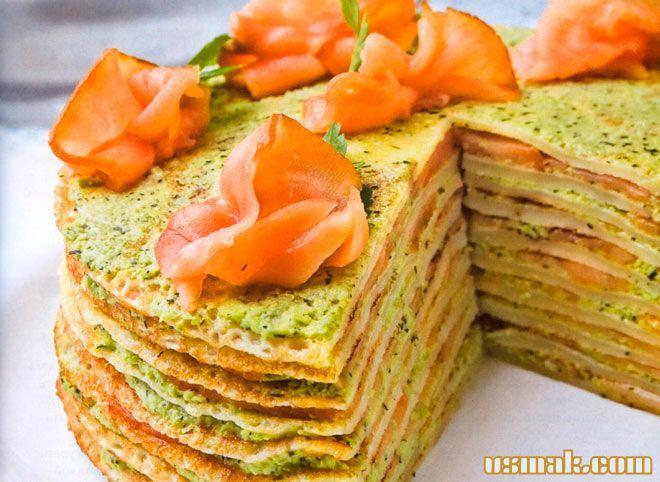 Рецепт Блинчатый торт фото