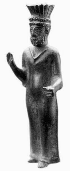 Il Sardus Pater (da Gesturi) è l'immagine di un reggente