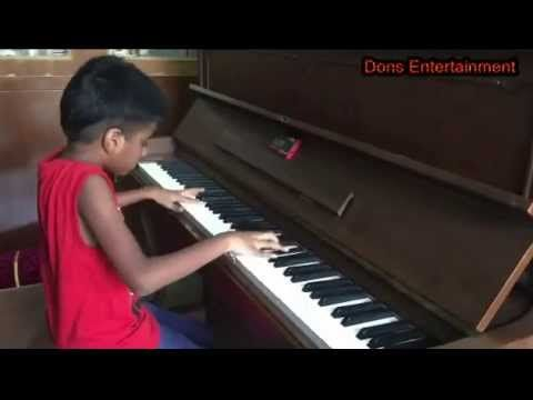 Indian Kid Playing Piano Like a Master - Cover Version