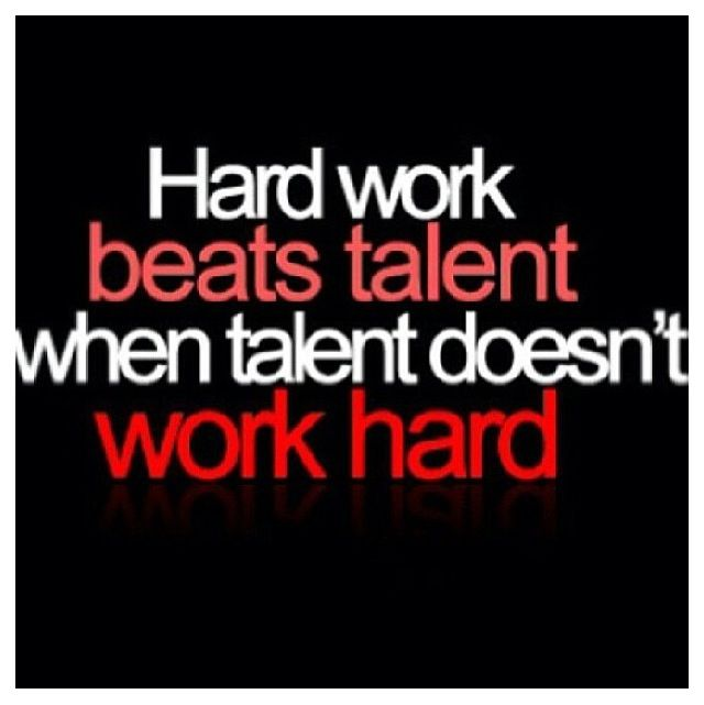 Hard Work Beats Talent Quotes: 12 Best Images About Athletic Quotes On Pinterest