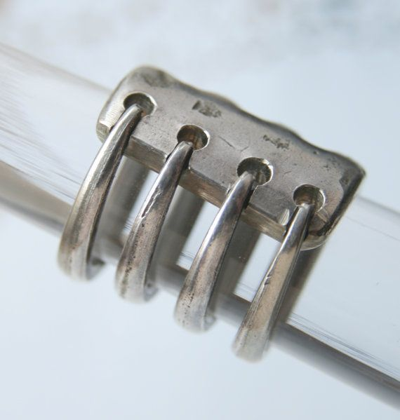 Recycled Silverware Wrapped Fork Ring Size 5 Ready to by flyinhog, $18.00