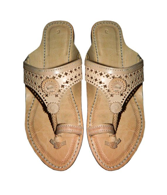 Attractive ladies punching upper sandal DLC-W-235