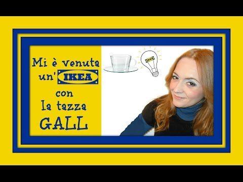 Mi è venuta un'IKEA DI NATALE con la tazza GALL: Il presepe in tazza! (Natale) Arte per Te - YouTube