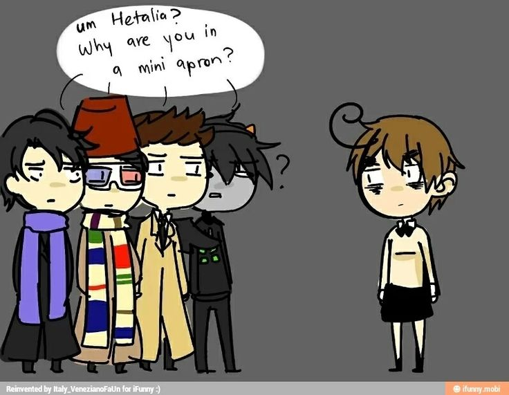 Hetalia. I can explain- No I cant. We are the weirdest of the weird fandoms...just let that sink in.