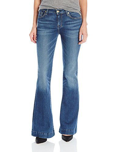 7 For All Mankind Womens Flare Jean