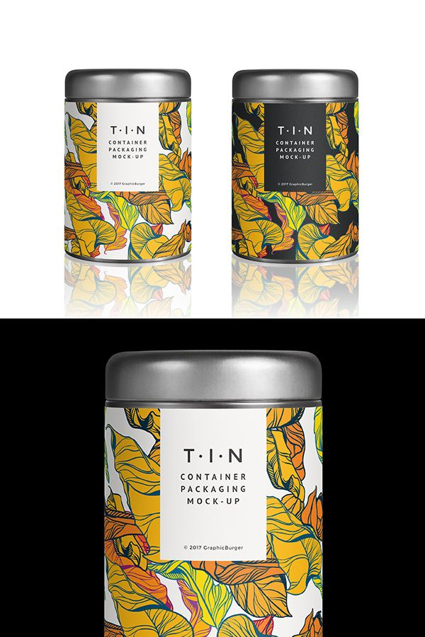 Creating a perfect presentation for your packaging design projects with Tin Container Packaging MockUp Templates. This is a a photorealistic PSD mock-up of a simple cylindrical tin container including smart layers. So you can change it according to your liking. Check it out and get it for free right now!