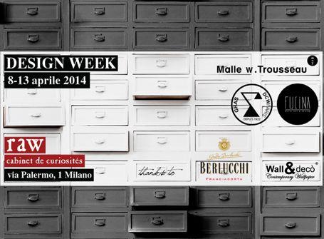 2014 April 8-13. #milanodesignweek at Raw Milano. #salonedelmobile #fuorisalone #breradistrict