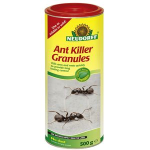 Approved by the organic farmers and growers association these ant killer granules from Neudorff will kill an entire ant nest when diluted with water.