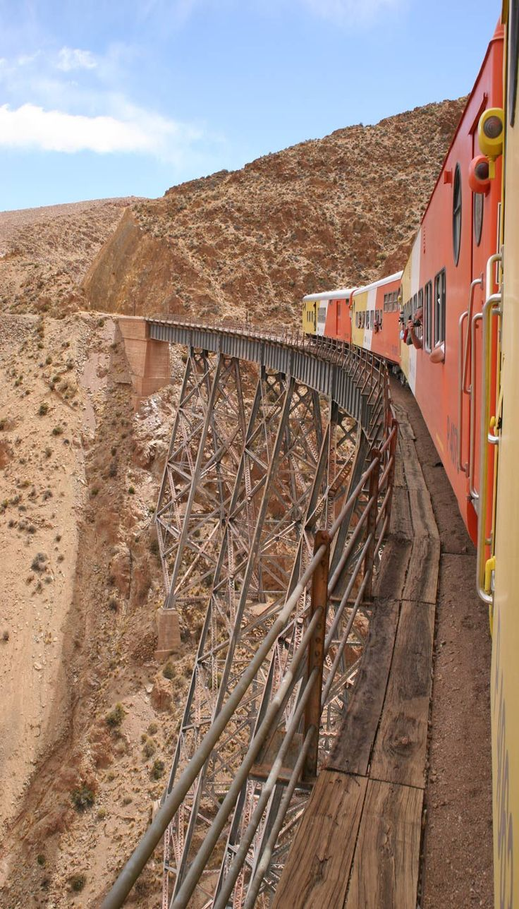 Tren a las nubes - #Train to the clouds. Its a very long ride.argentine