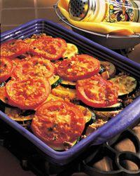 Parmesan Vegetable Bake
