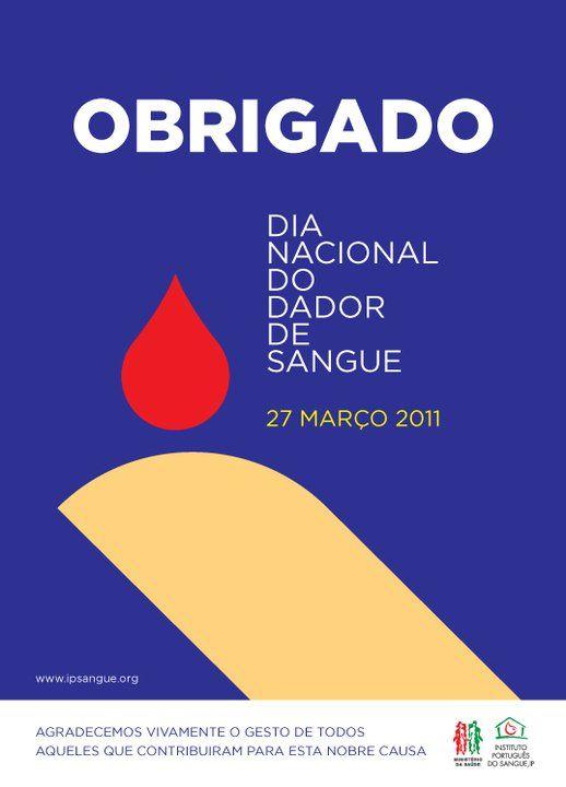 Dia Nacional de Dador, 27 de Março de 2011.